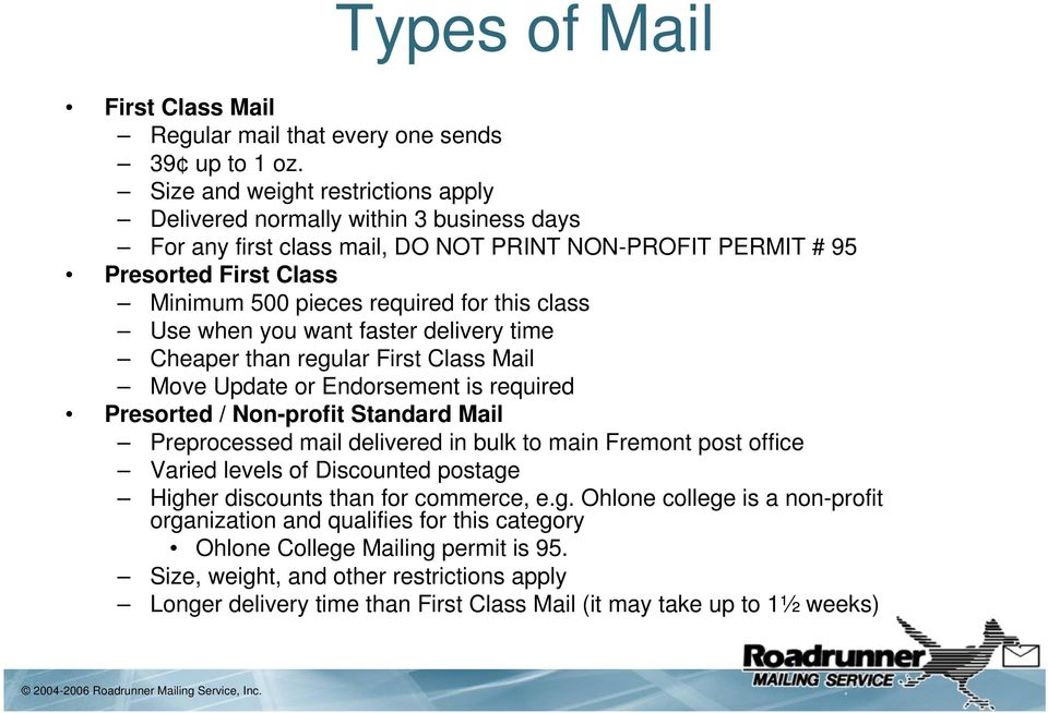 Optimize Your Mailing Service Pdf Free Download