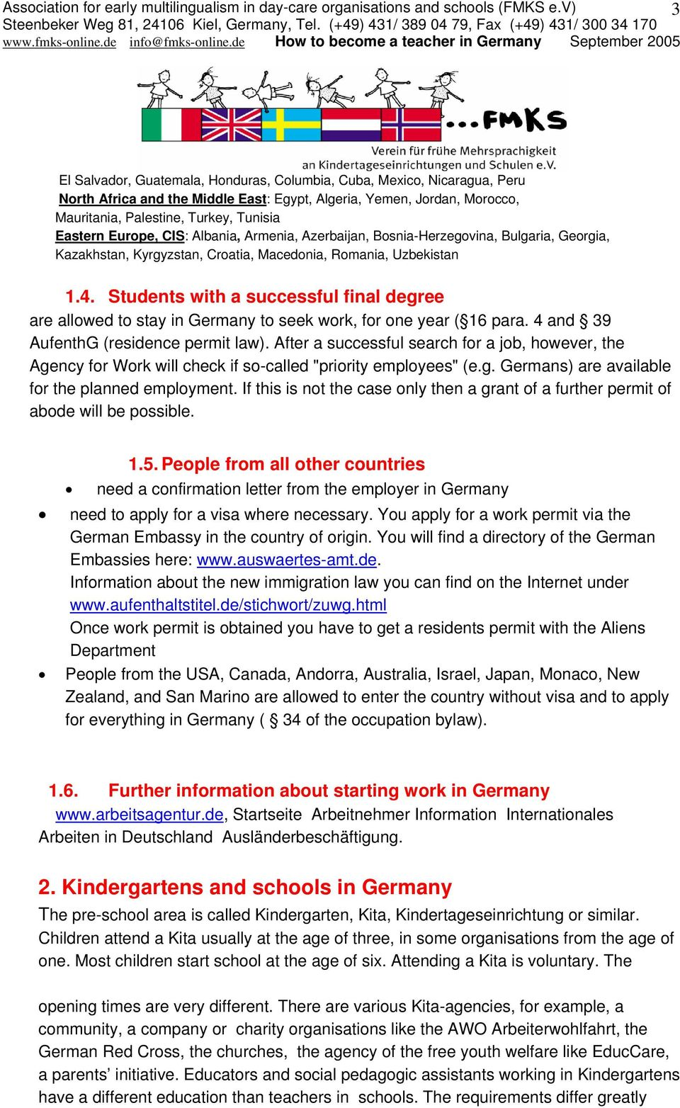 How to become a teacher in Germany - PDF