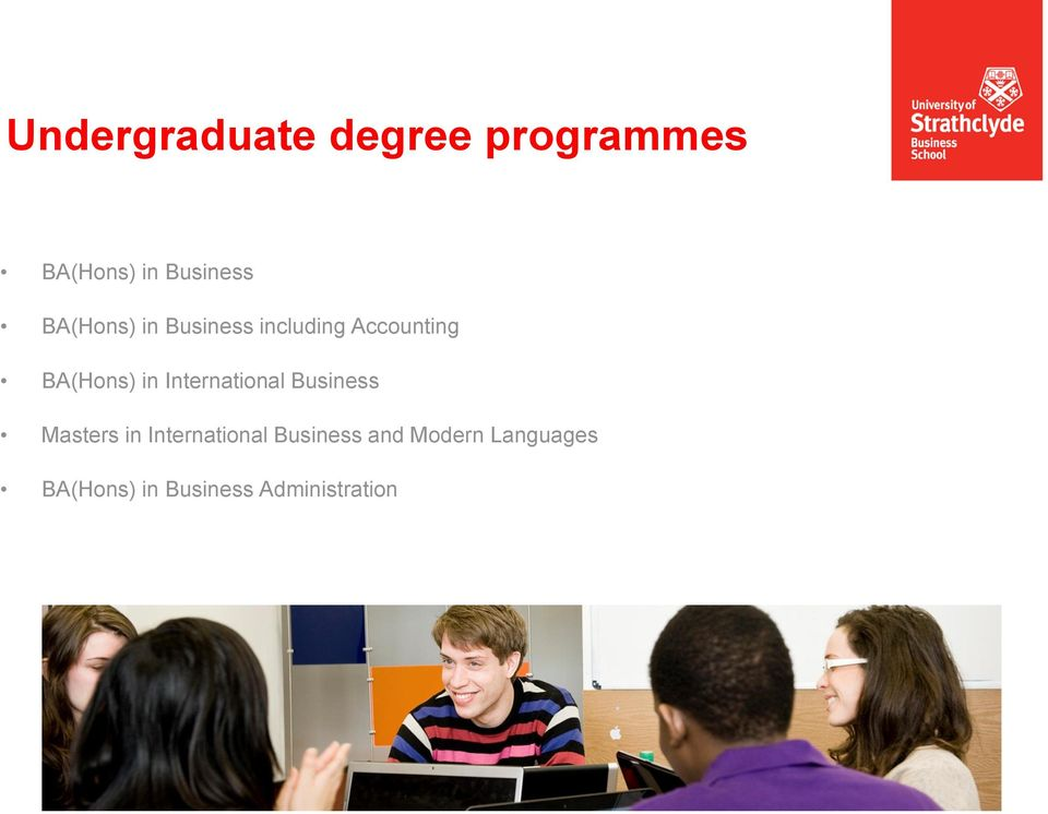 BA(Hons) in International Business Masters in