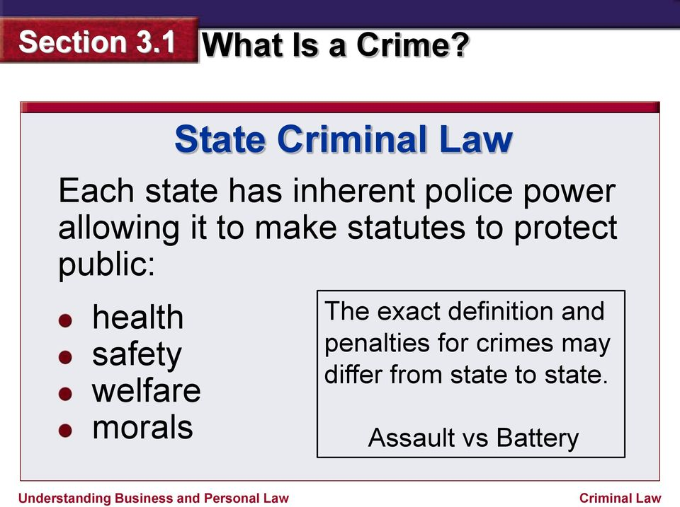 welfare morals The exact definition and penalties for