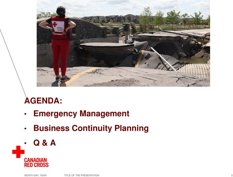 Continuity Planning Q & A