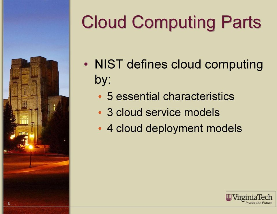 essential characteristics 3 cloud
