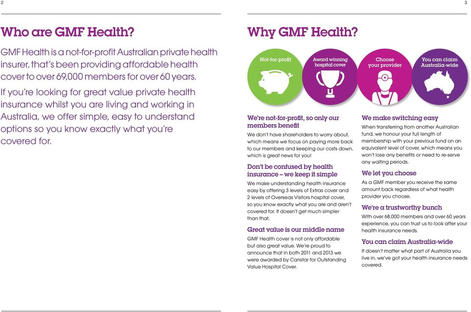 Why GMF Health?