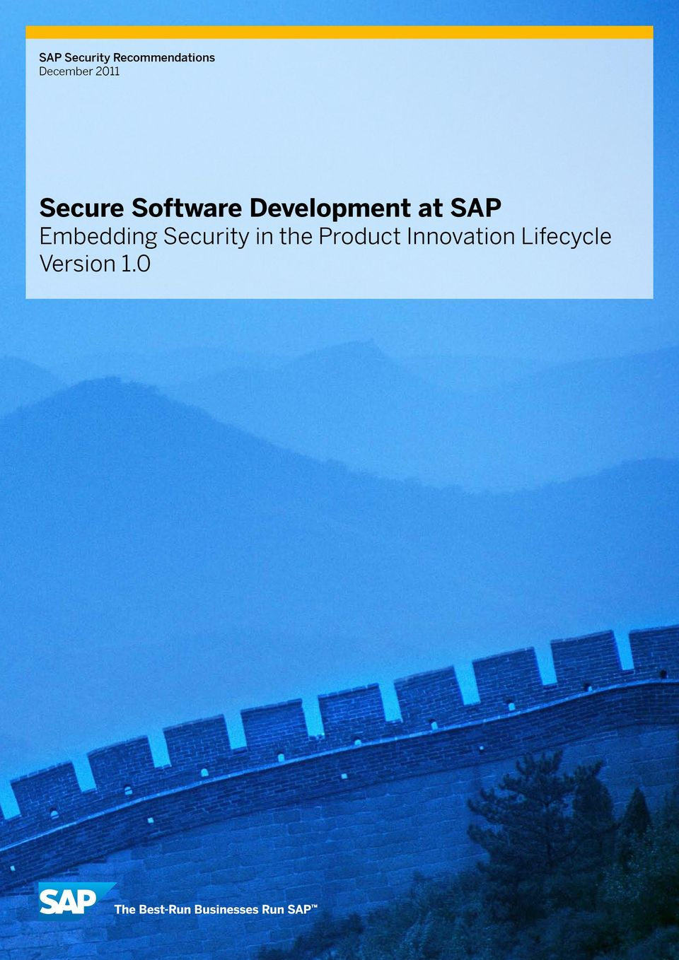 Development at SAP Embedding