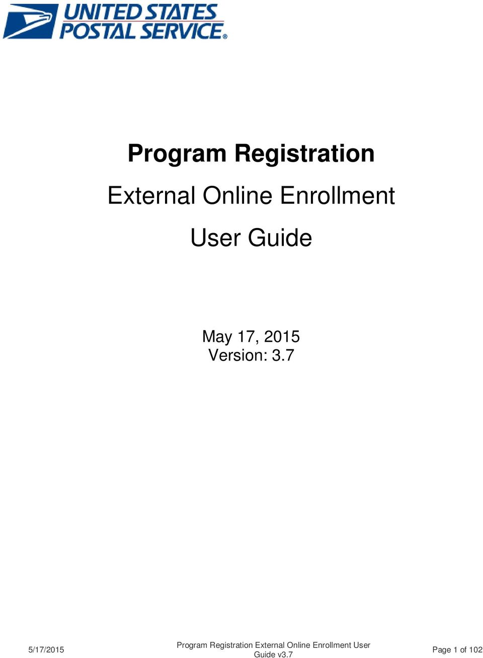 Enrollment User Guide