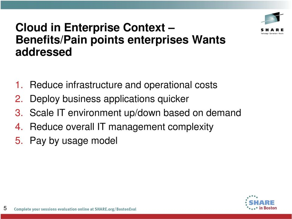 Deploy business applications quicker 3.