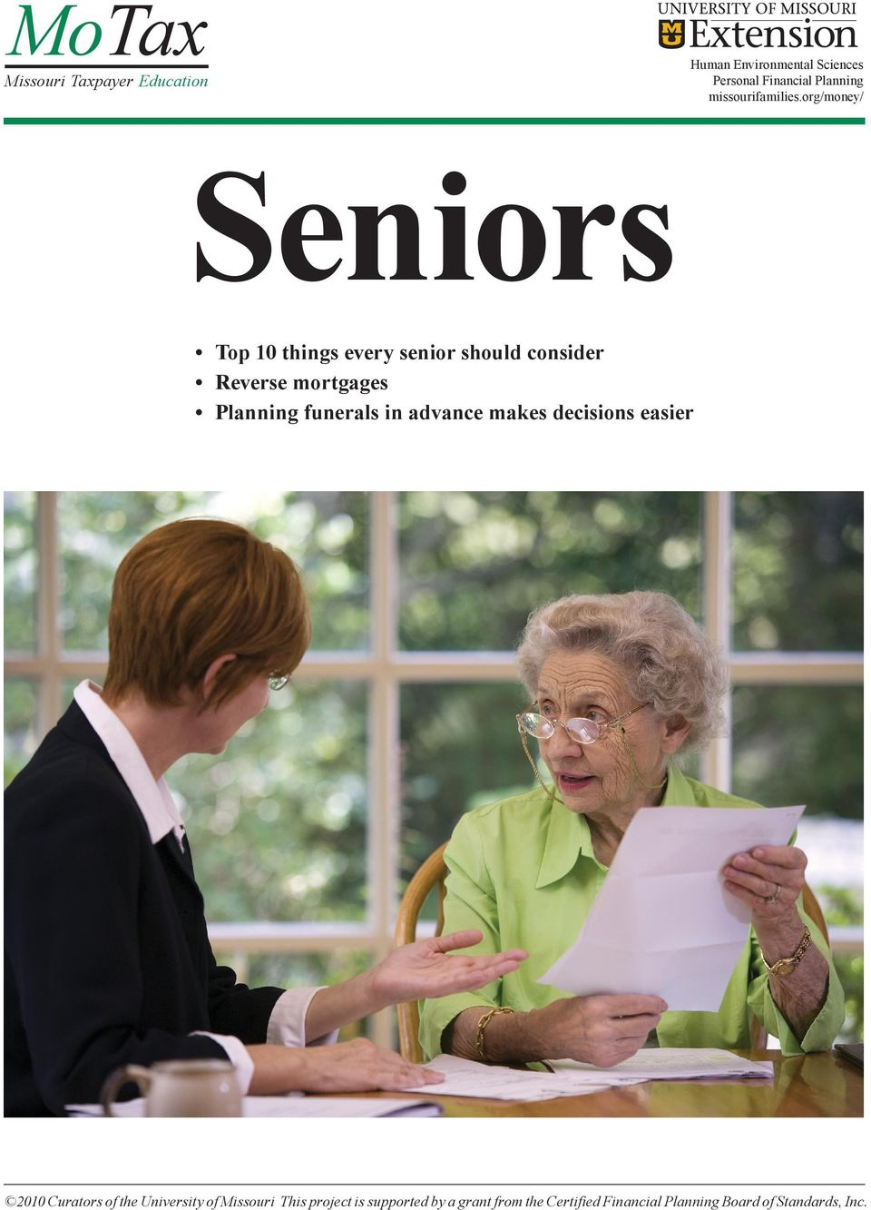 org/money/ Seniors Top 10 things every senior should