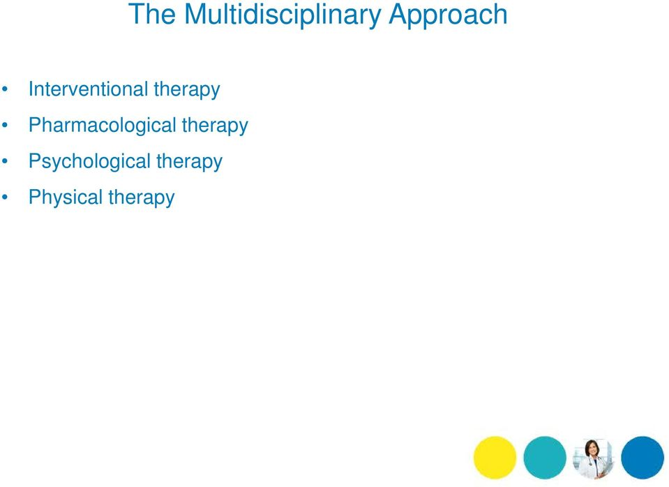 therapy Pharmacological