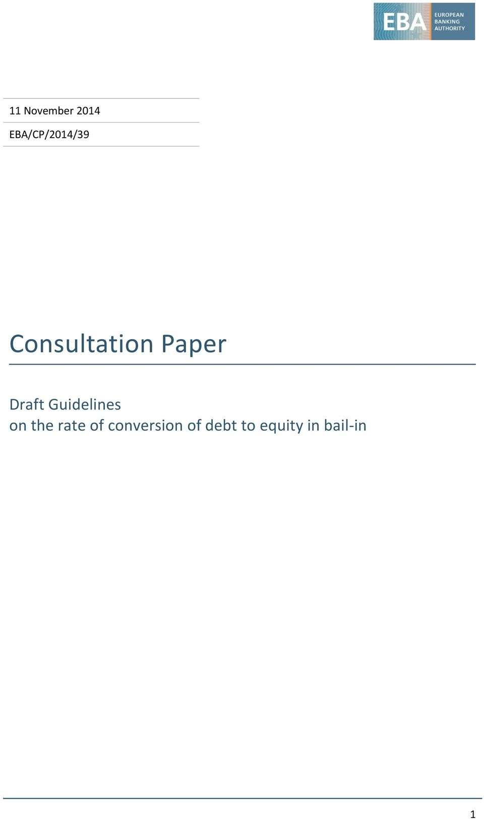 Paper Draft Guidelines on the