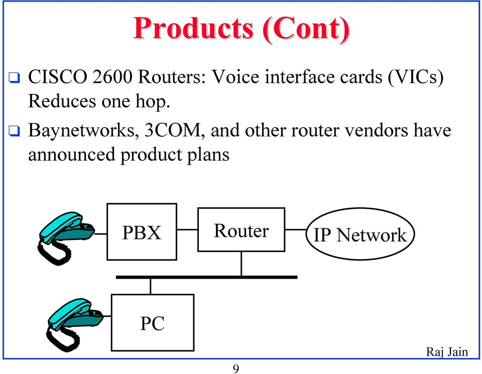 Baynetworks, 3COM, and other router vendors