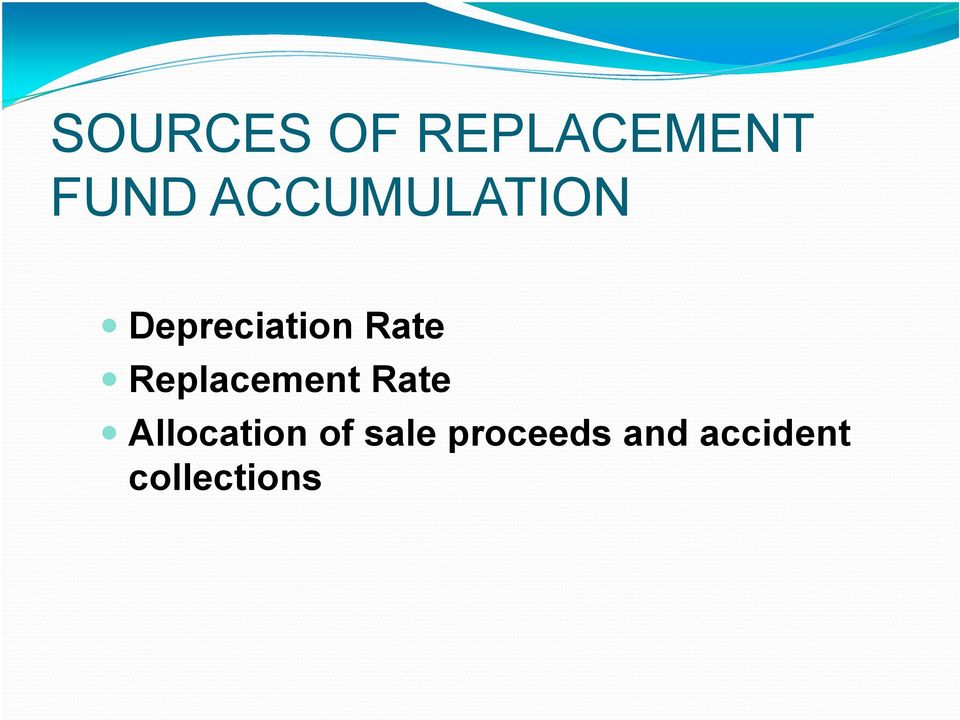 Replacement Rate Allocation of