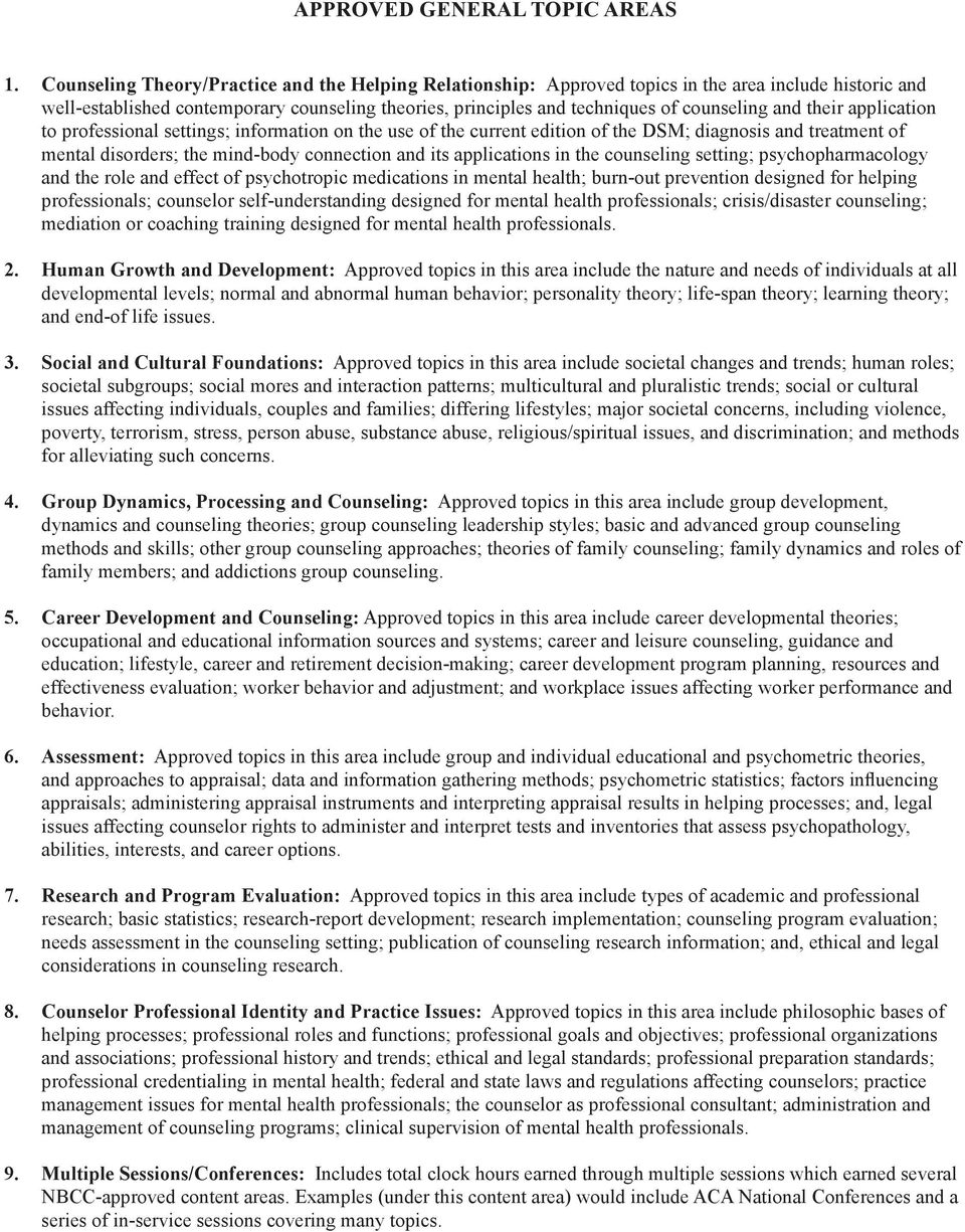 General Information For Continuing Education Providers Pdf