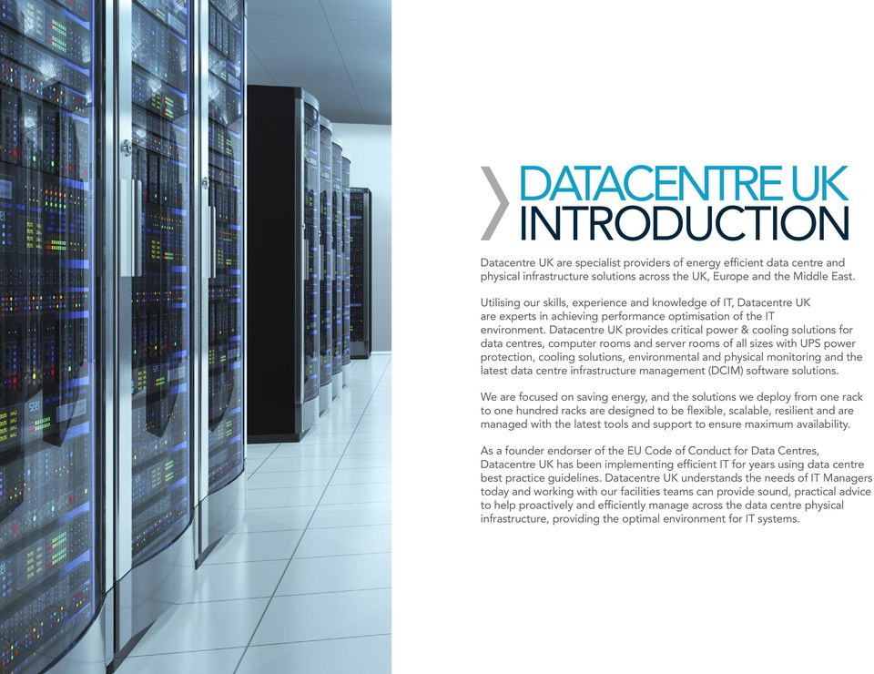 Datacentre UK provides critical power & cooling solutions for data centres, computer rooms and server rooms of all sizes with UPS power protection, cooling solutions, environmental and physical