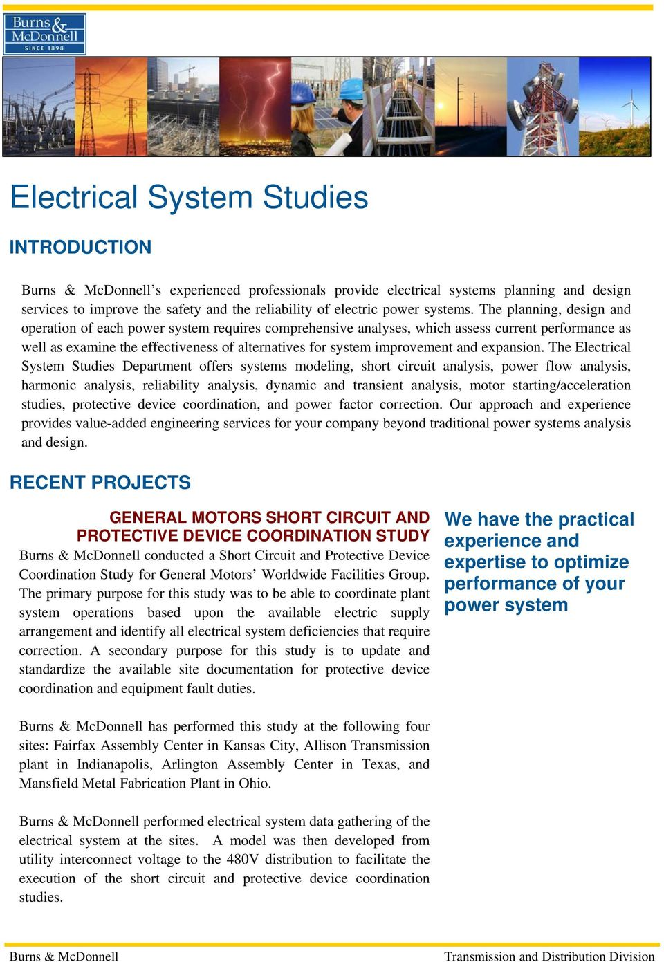 short circuit analysis in power systems pdf
