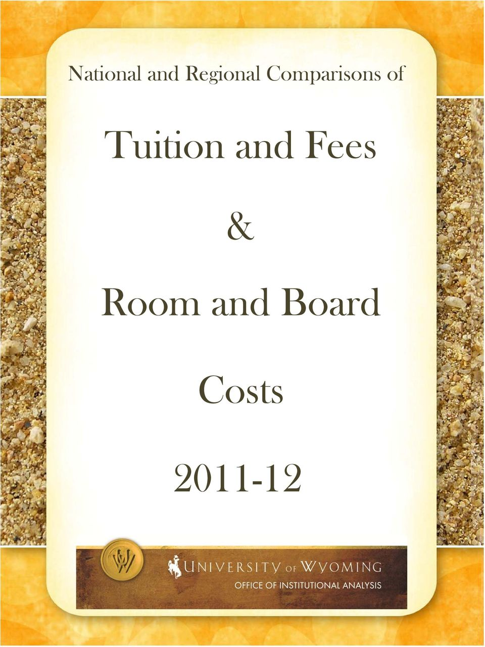 of Tuition and Fees