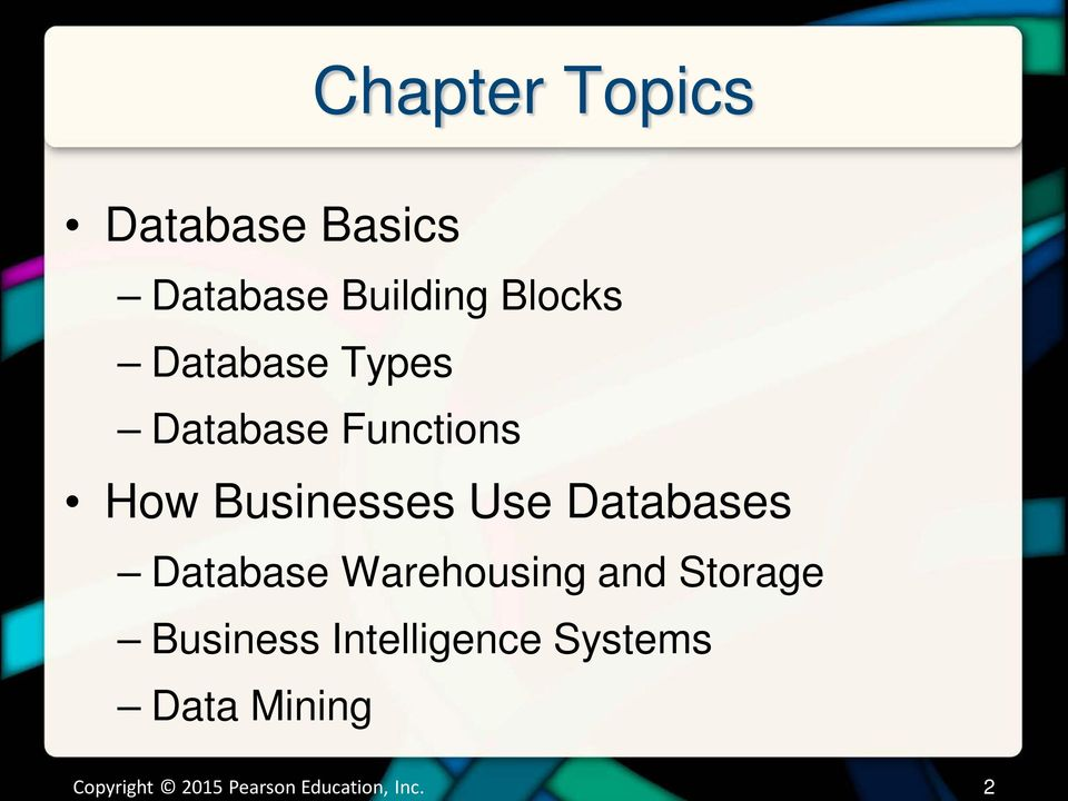 Database Types Database Functions How Businesses Use