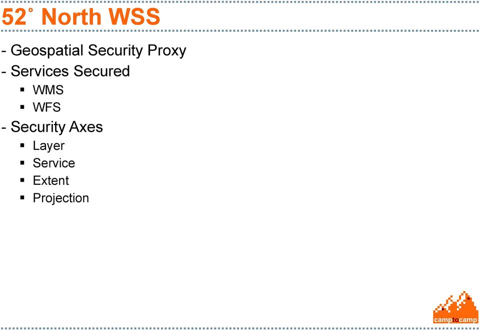 Secured WMS WFS - Security