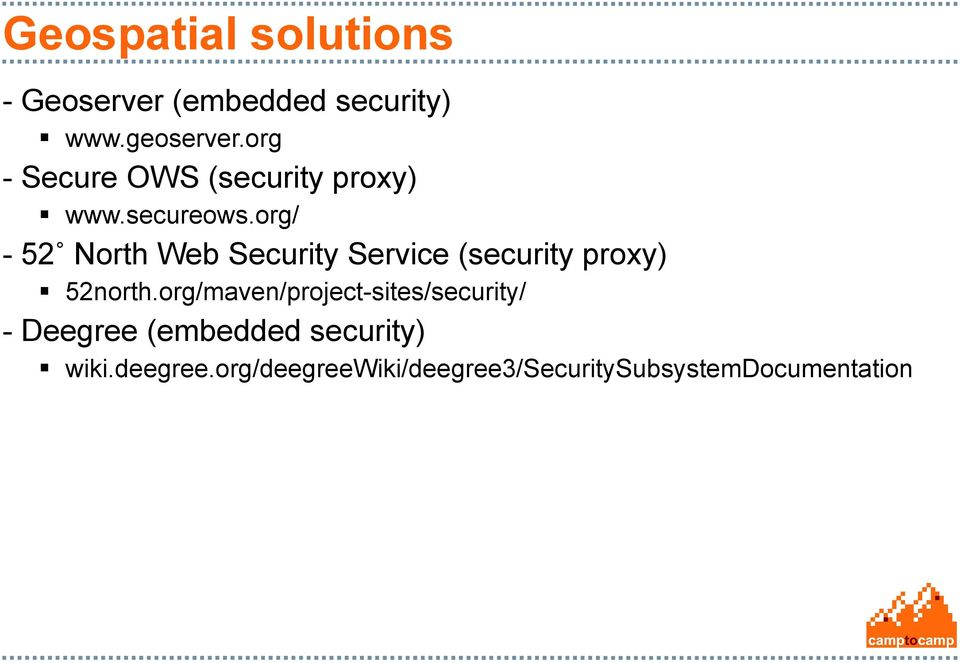 org/ - 52 North Web Security Service (security proxy) 52north.