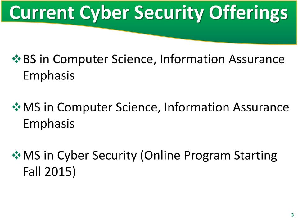 Computer  Cyber Security (Online Program Starting