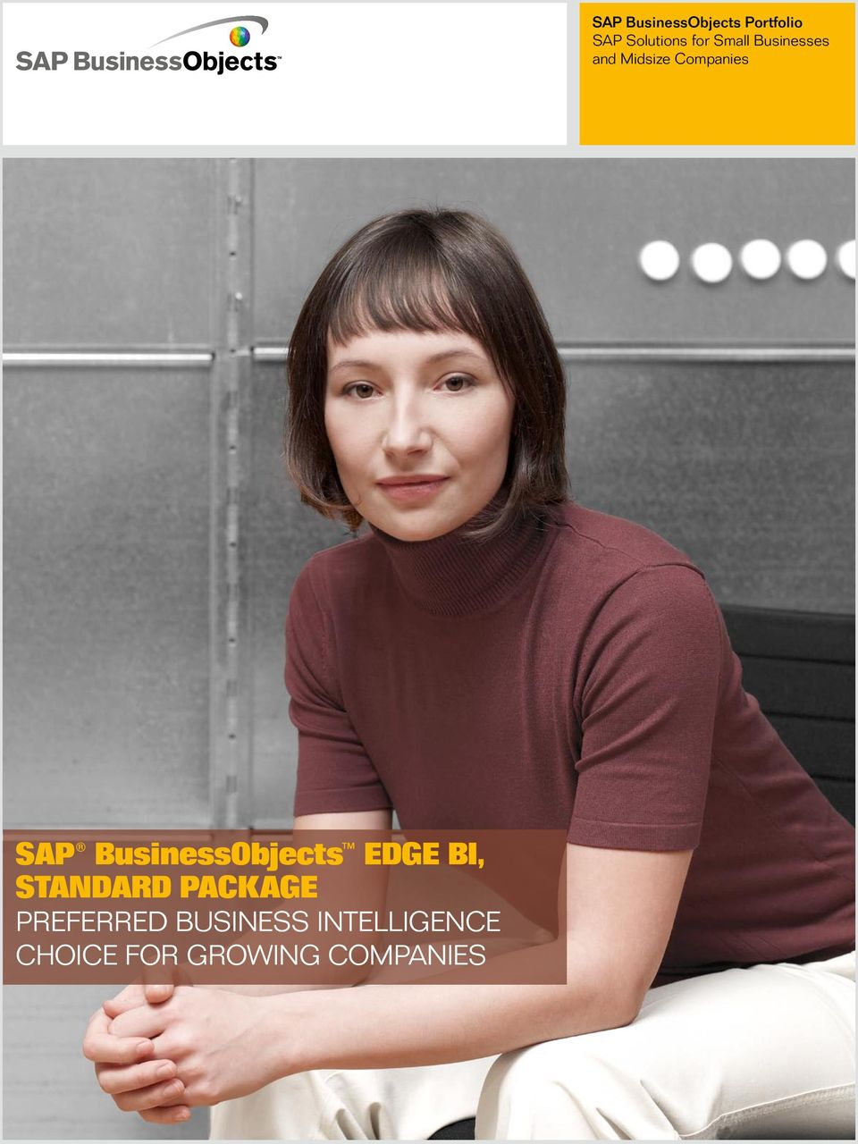 Growing Companies SAP BusinessObjects Portfolio