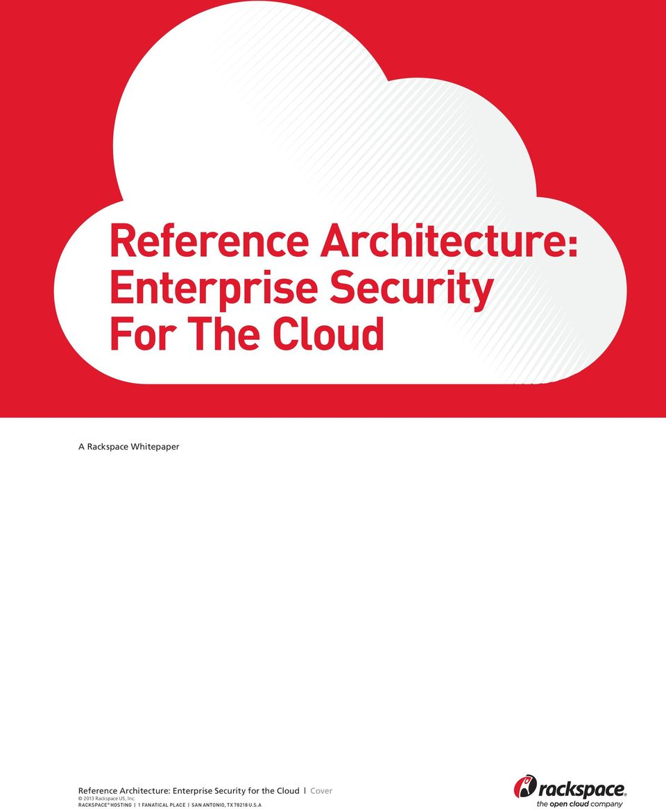 Whitepaper  Security for the Cloud