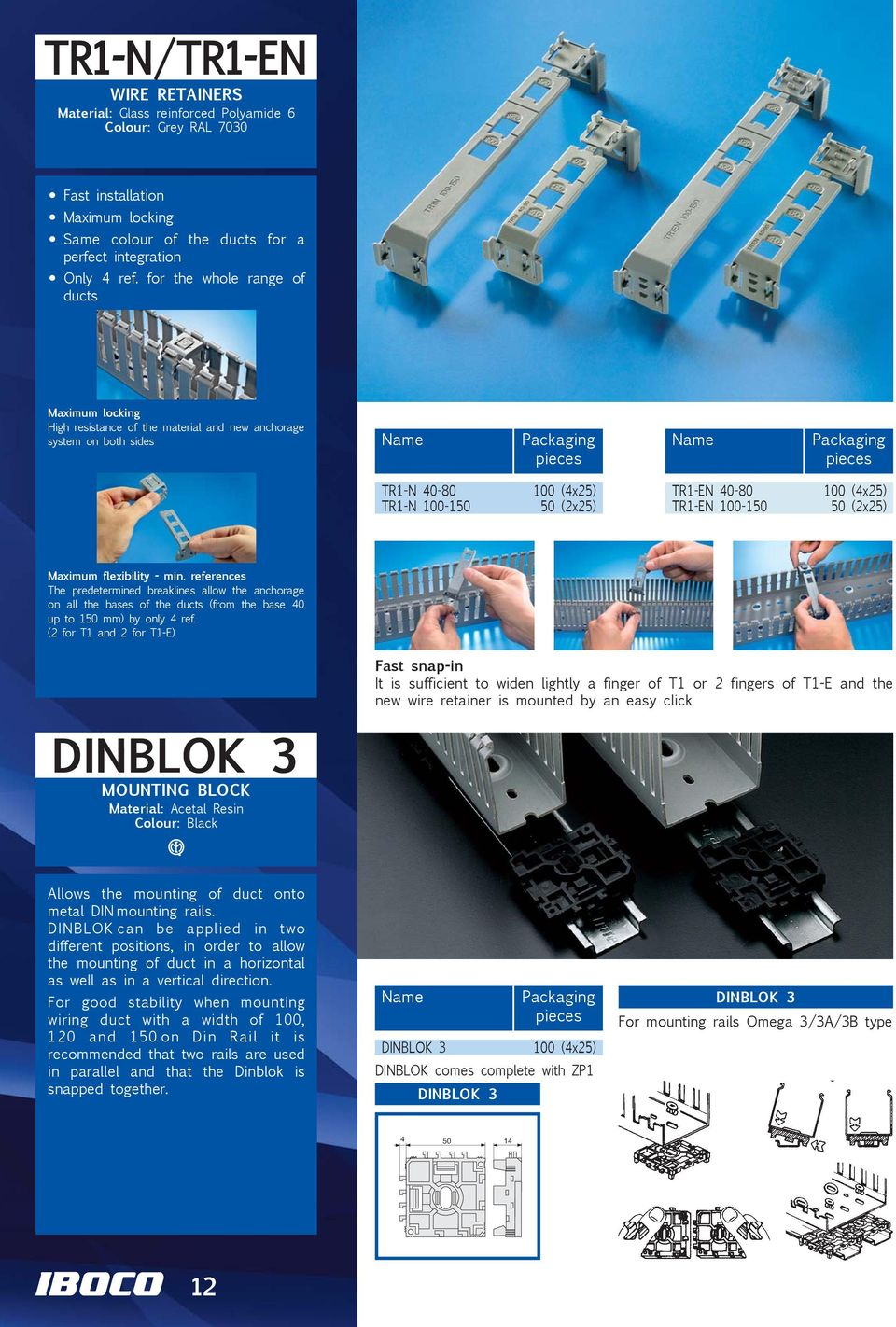 Wiring Ducts and Components - PDF