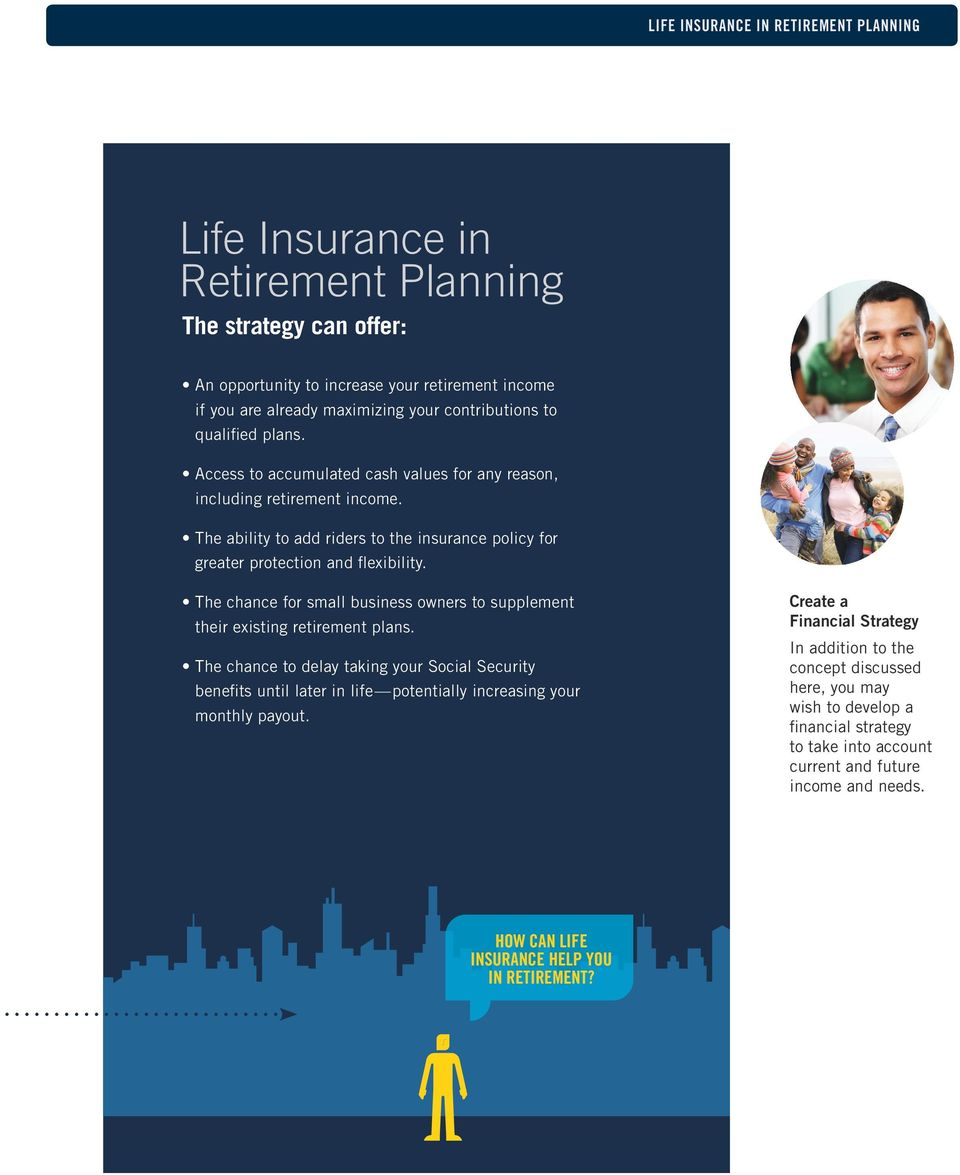 The chance for small business owners to supplement their existing retirement plans.