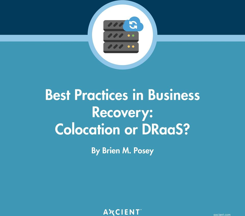 Colocation or DRaaS?