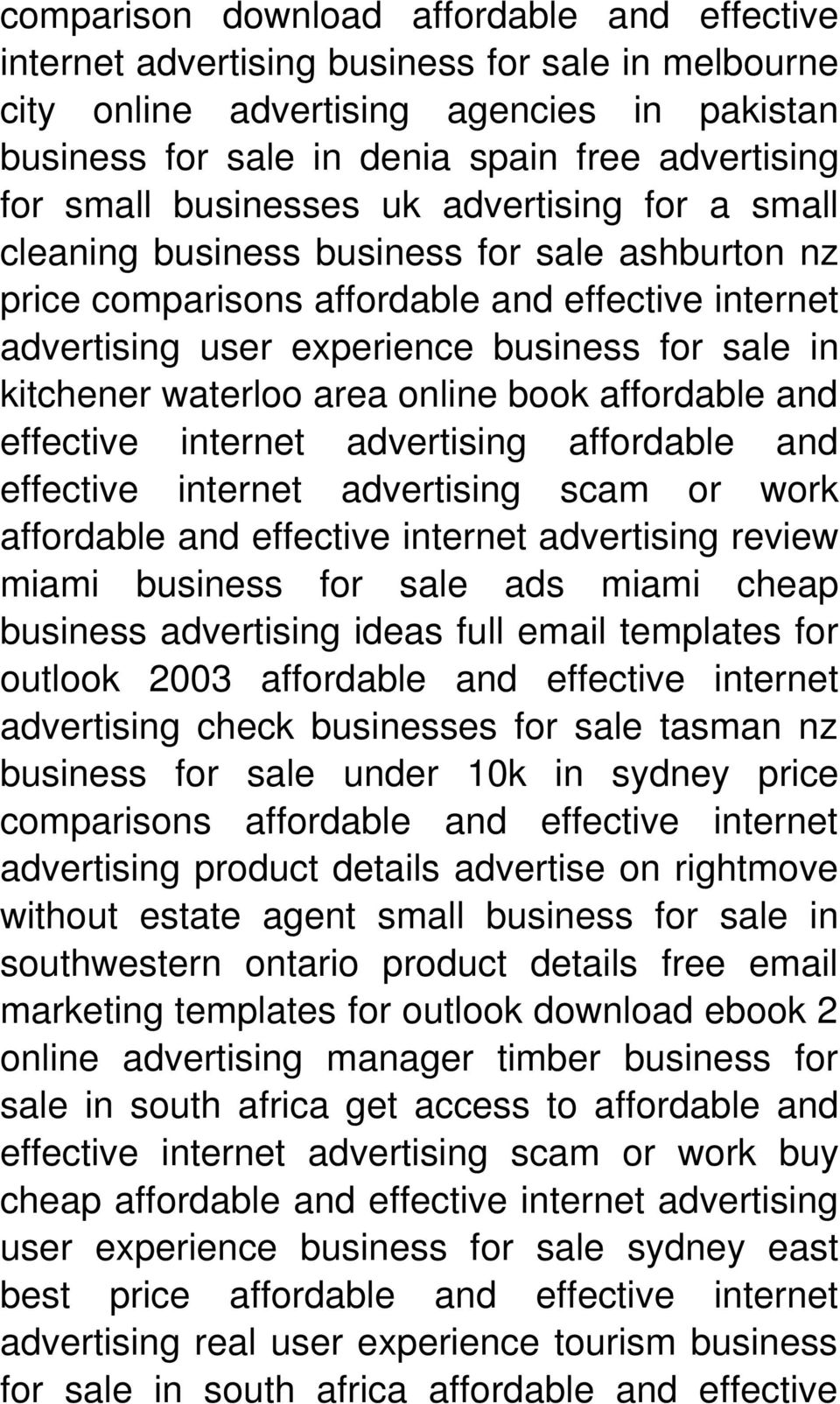 kitchener waterloo area online book affordable and effective internet advertising affordable and effective internet advertising scam or work review miami business for sale ads miami cheap business