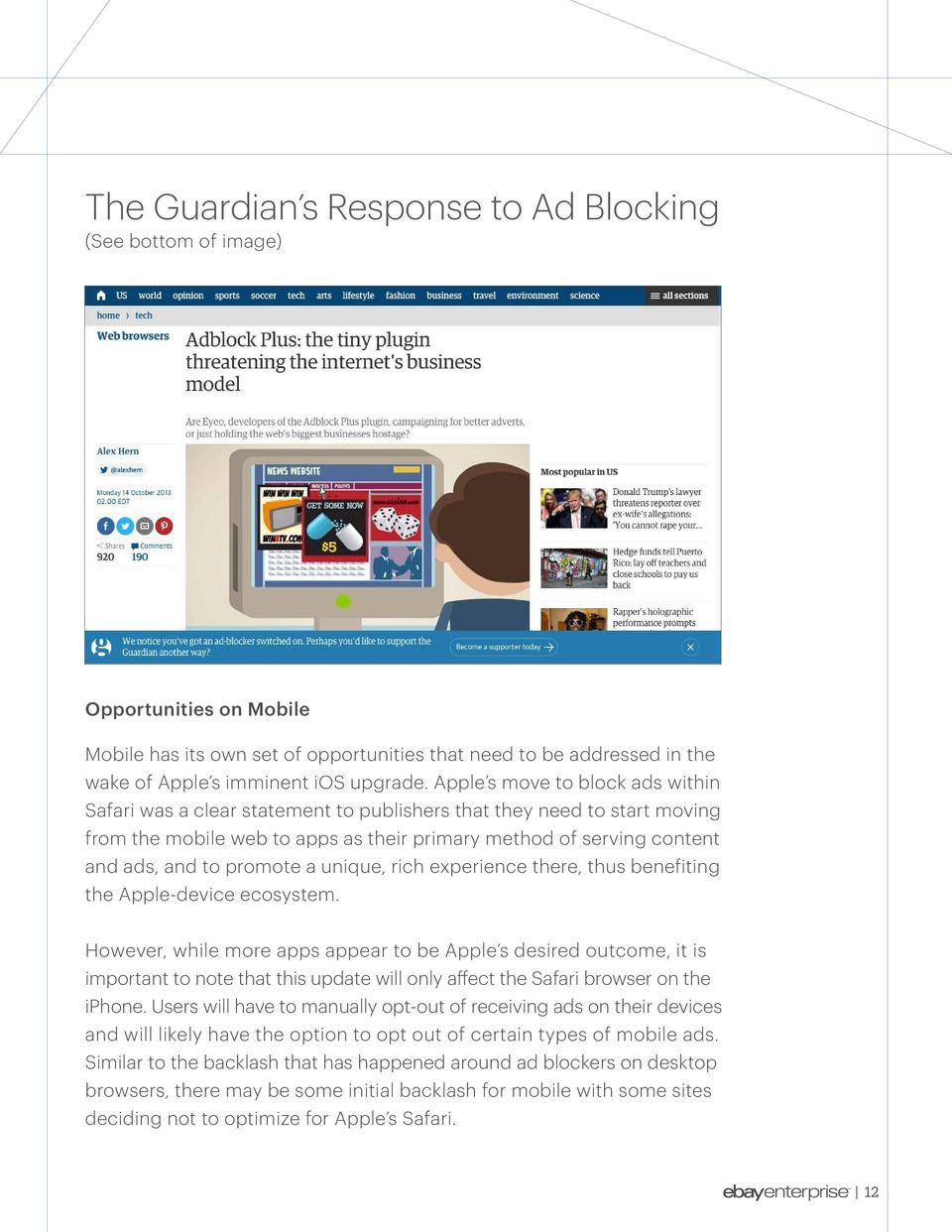 Ad Blocker Software: The End of Digital Advertising or the