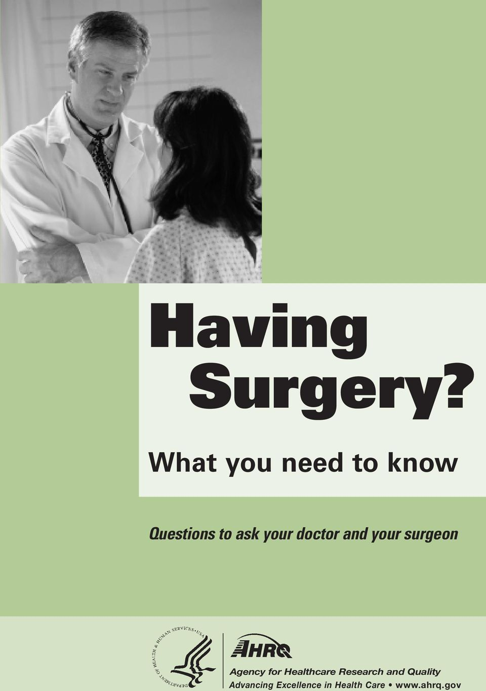 doctor and your surgeon Agency for