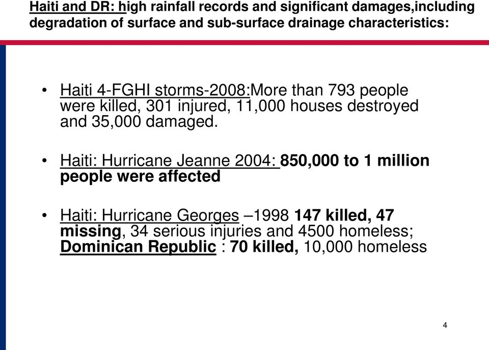 destroyed and 35,000 damaged.