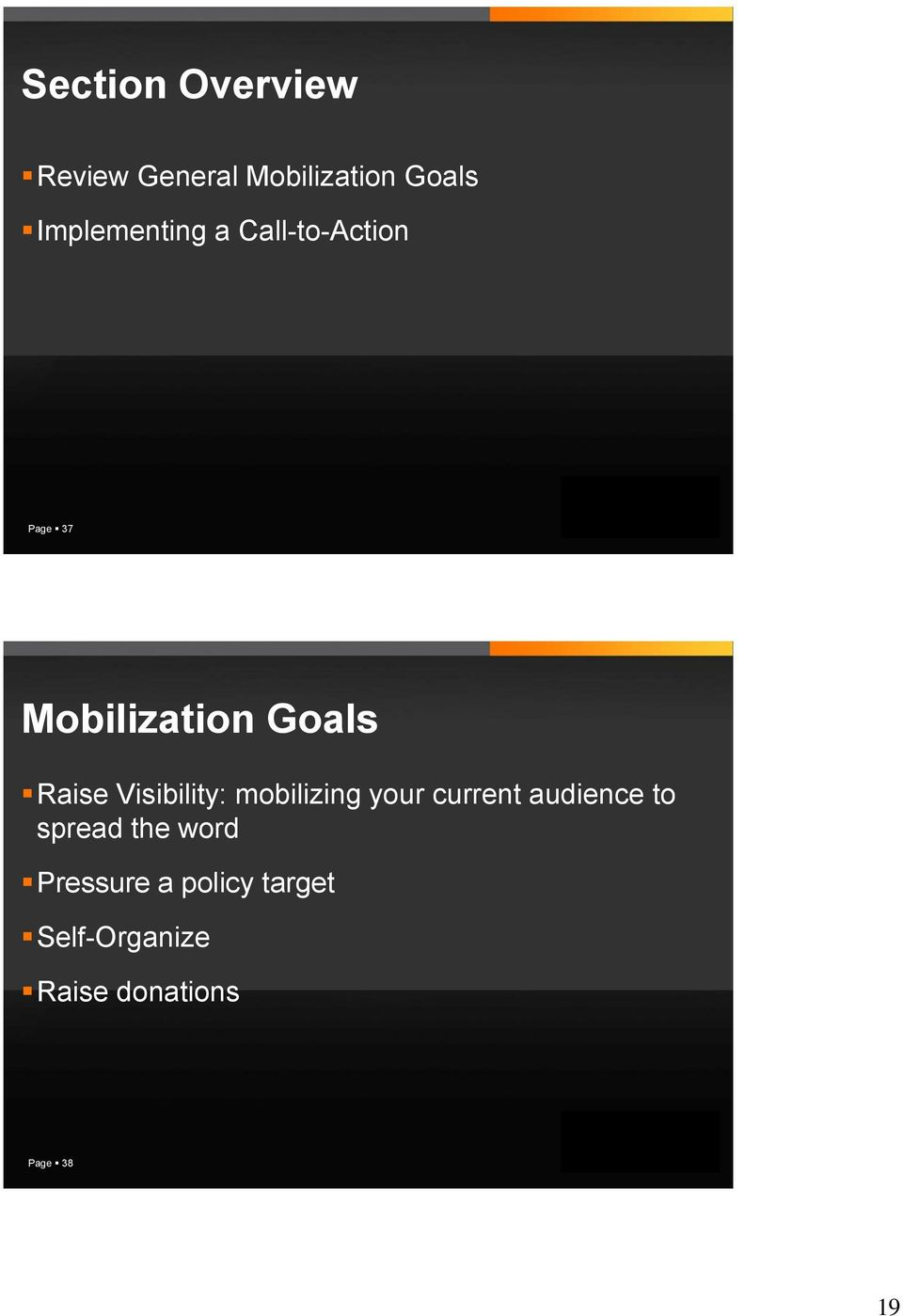 Raise Visibility: mobilizing your current audience to spread