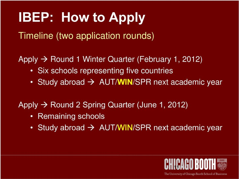 abroad AUT/WIN/SPR next academic year Apply Round 2 Spring Quarter (June