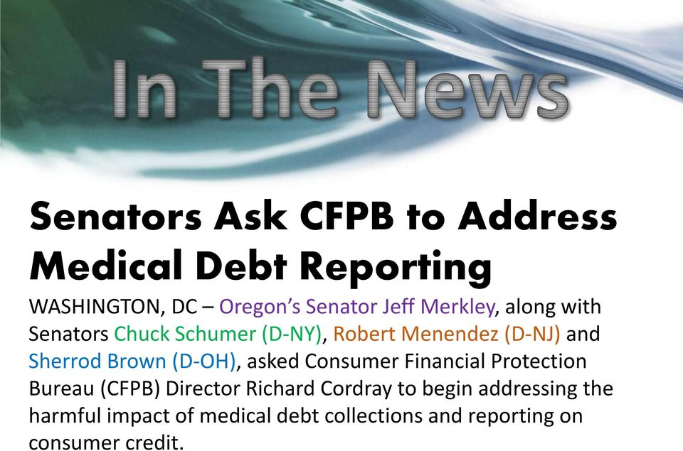 Brown (D-OH), asked Consumer Financial Protection Bureau (CFPB) Director Richard Cordray