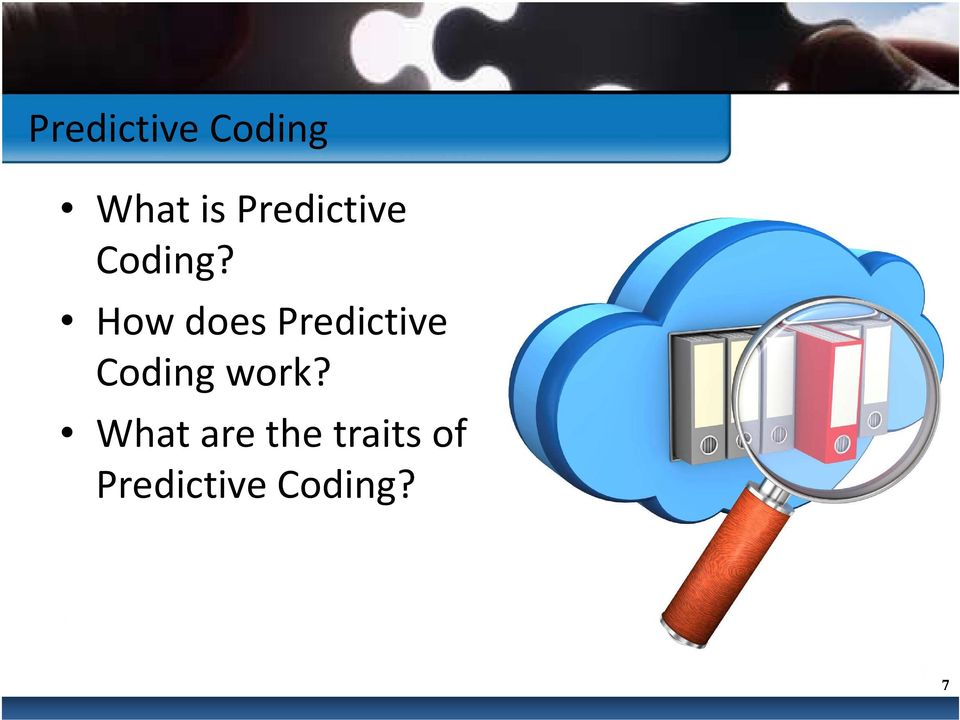 How does Predictive Coding