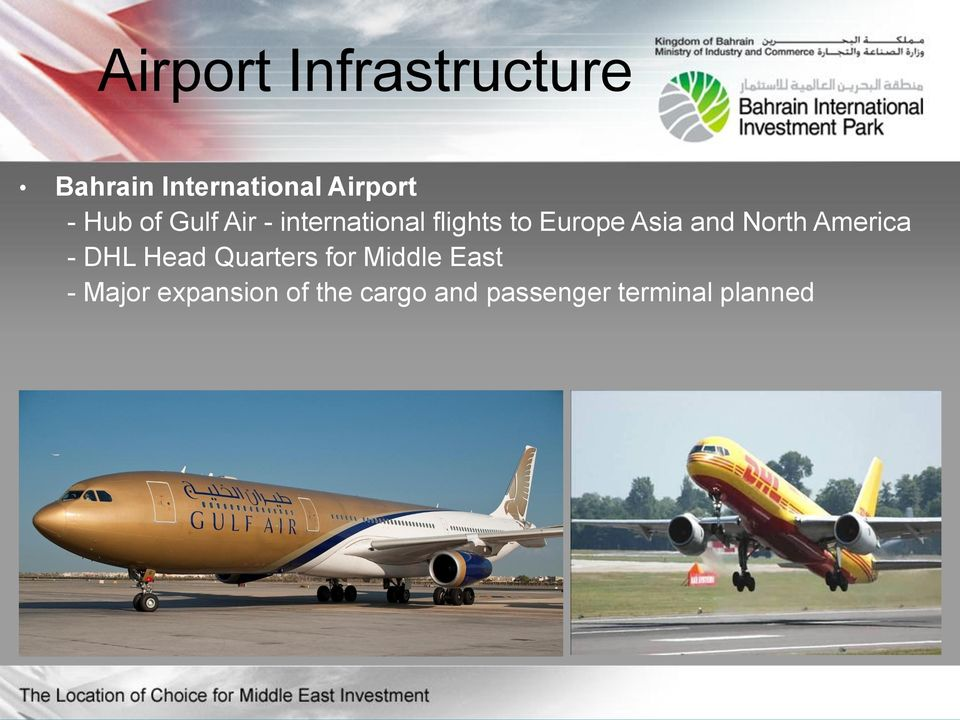 and North America - DHL Head Quarters for Middle East -