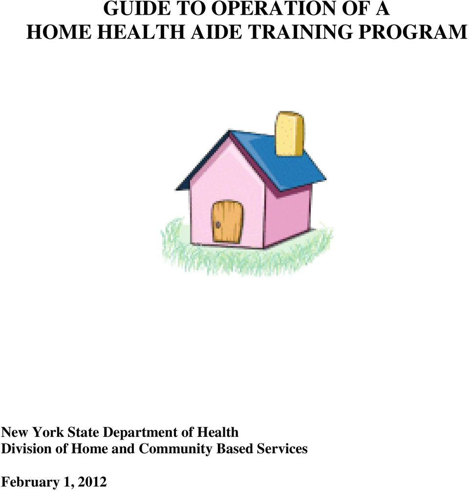 Department of Health Division of Home