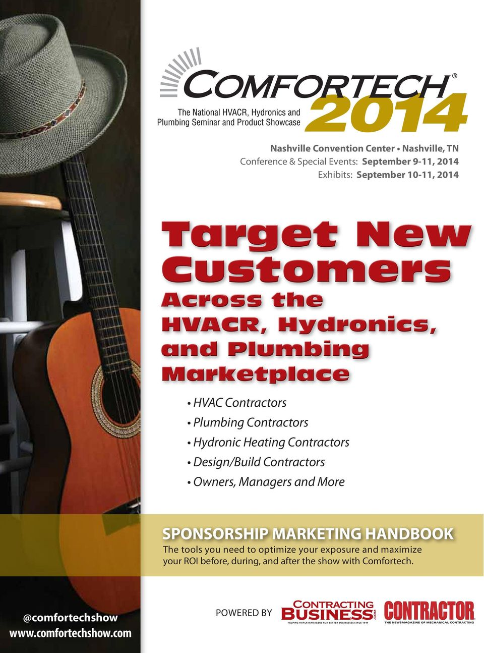 Design/Build Contractors Owners, Managers and More SPONSORSHIP MARKETING HANDBOOK The tools you need to optimize your exposure and maximize