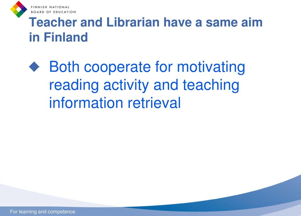 cooperate for motivating reading