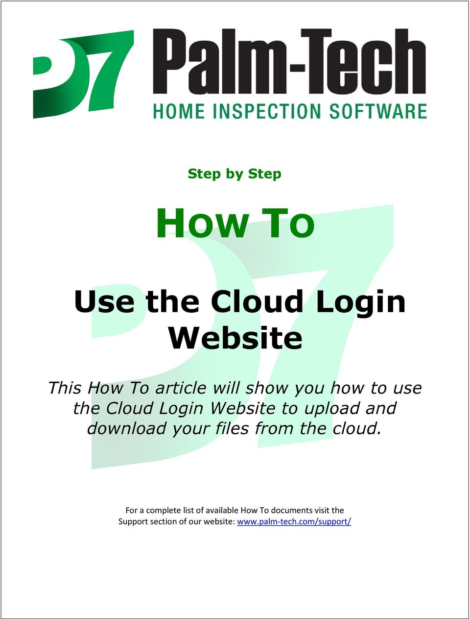 your files from the cloud.