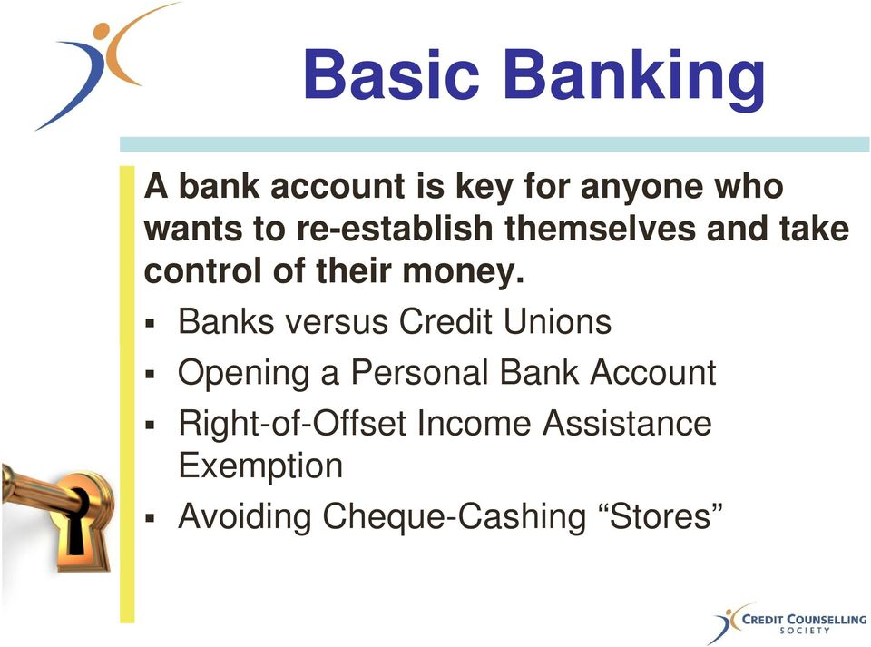 Banks versus Credit Unions Opening a Personal Bank Account