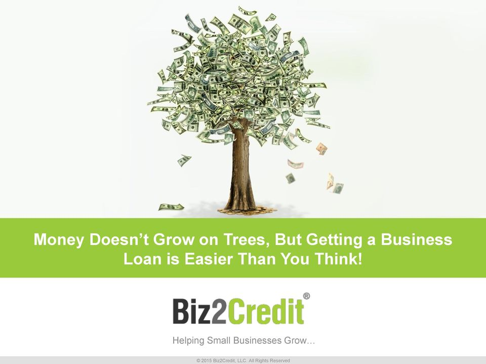 Business Loan is Easier
