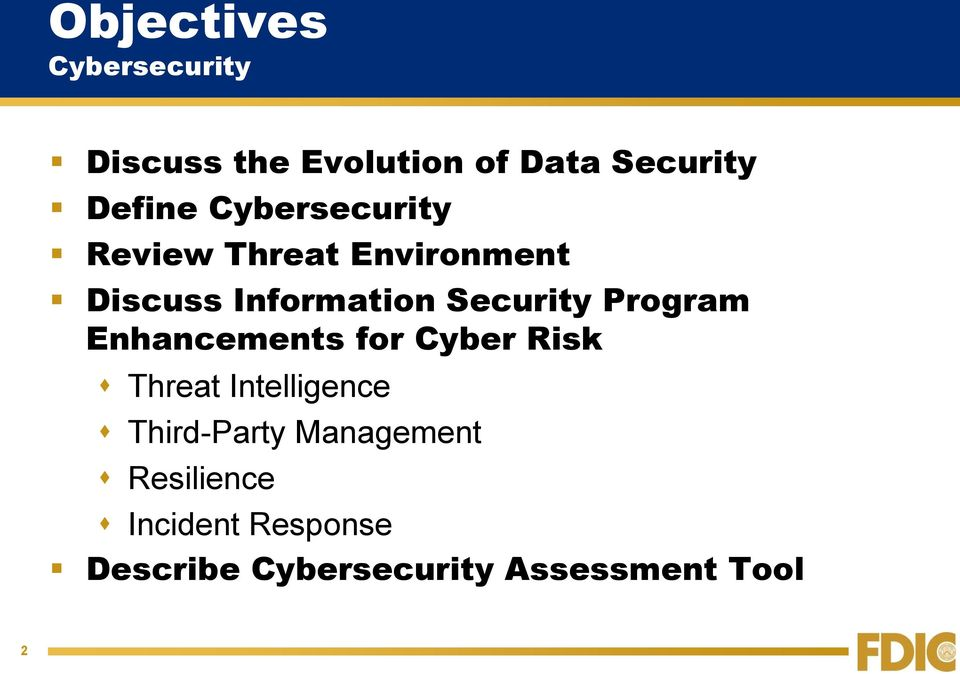 Program Enhancements for Cyber Risk Threat Intelligence