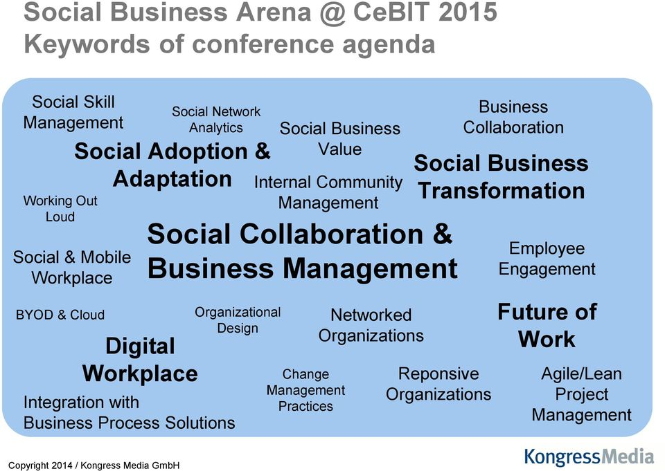 Business Value Internal Community Social Collaboration & Business Organizational Design Change Practices Networked Organizations