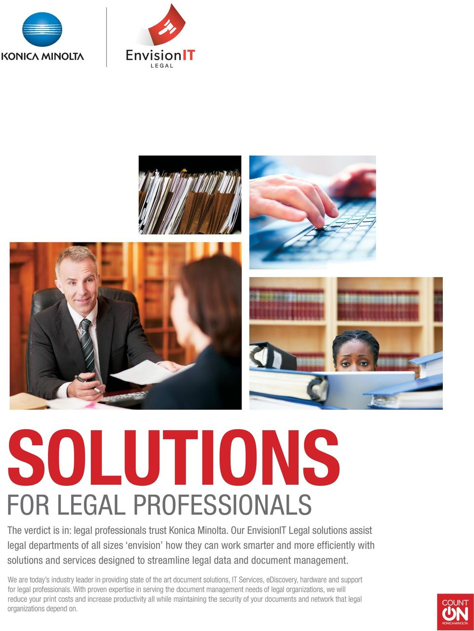 legal data and document management.