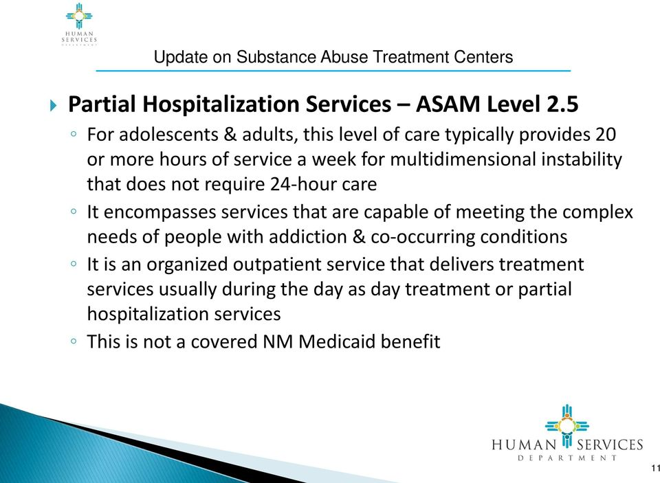 instability that does not require 24-hour care It encompasses services that are capable of meeting the complex needs of people with
