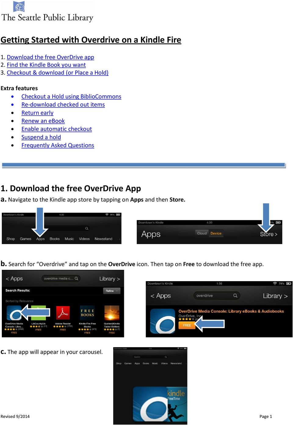 getting started with overdrive on a kindle fire pdf