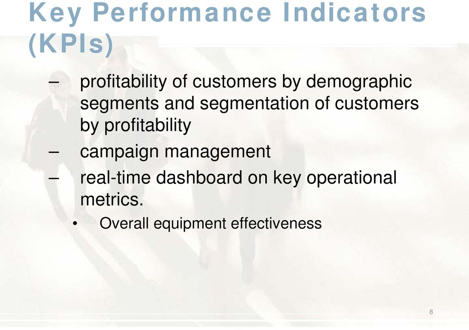 customers by profitability campaign management real-time