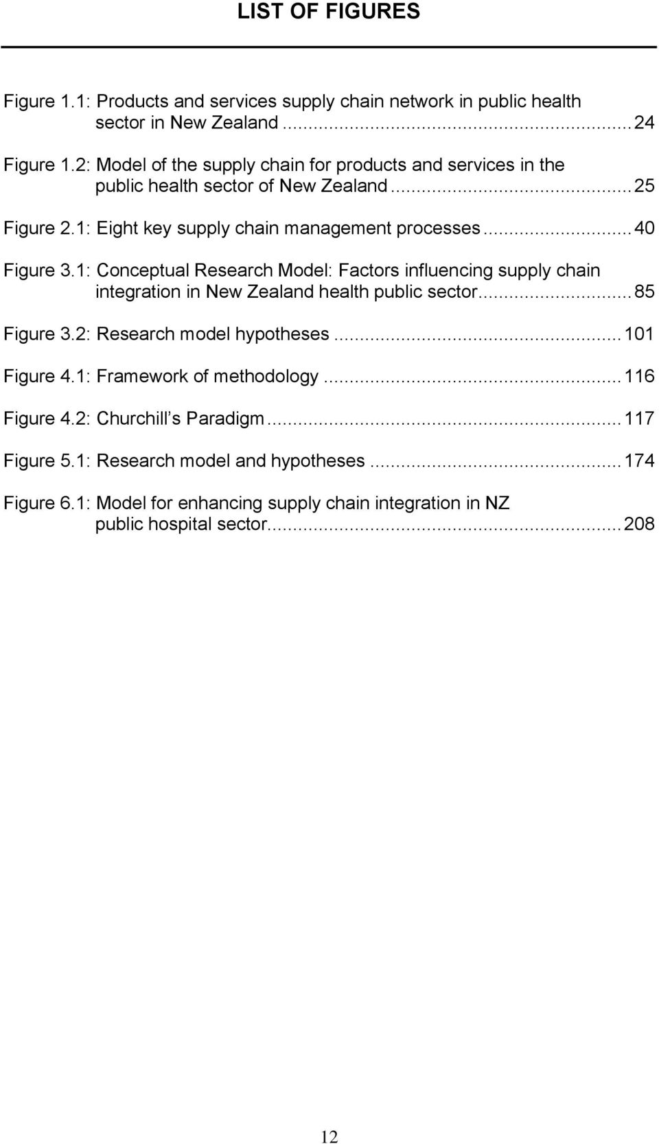 1: Conceptual Research Model: Factors influencing supply chain integration in New Zealand health public sector... 85 Figure 3.2: Research model hypotheses... 101 Figure 4.